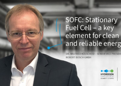 Dr. Wilfried Kölscheid - Senior Vice President - Robert Bosch GmbH