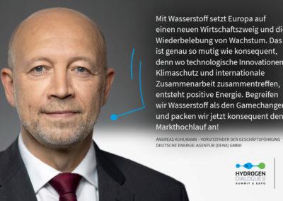 Andreas Kuhlmann - Vorsitzender der Geschäftsführung Deutsche Energie-Agentur (DENA) GmbH