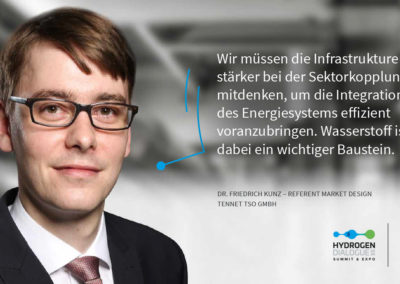 Dr. Friedrich Kunz - Referent Market Design - TenneT TSO GmbH