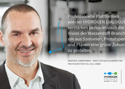 Manfred Limbrunner - Director Sales & Marketing - Proton Motor Fuel Cell GmbH
