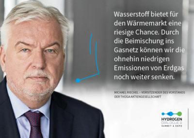 Michael Riechel - Vorsitzender des Vorstands der Thüga Aktiengesellschaft