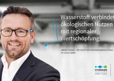 André Steinau - Referent der Unternehmensleitung - GP Joule GmbH