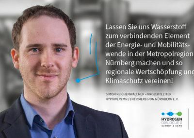 Simon Reichenwallner - Projektleiter HyPowerEMN / ENERGIEregion Nürnberg e.V.