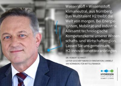 Dr. Robert Schmidt - Leiter Geschäftsbereich Innovation/Umwelt - IHK Nürnberg für Mittelfranken
