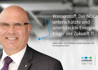 Gerald Weiß - Vice President (Bereichsleiter.PPA) - NürnbergMesse GmbH