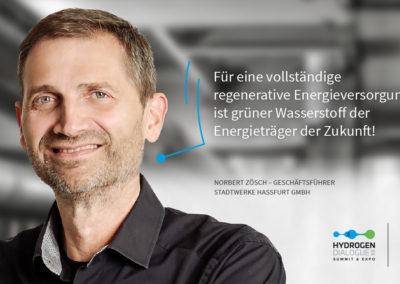 Norbert Zösch - Geschäftsführer - Stadtwerk Haßfurt GmbH